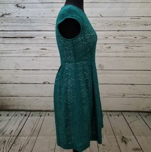 Mimi Chica Dresses - NWT Teal green lace dress